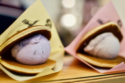 Taro Ice Cream Dorayaki